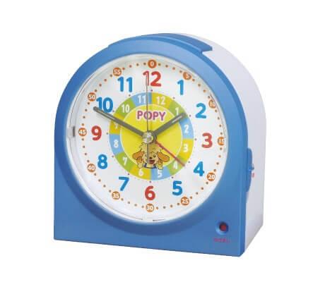 ポピーのおべんきょうめざまし時計の画像