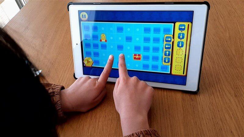 ワンダーボックス「コードアドベンチャー」のプレイ画面