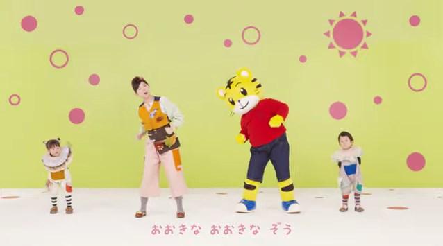 ぷちのしまじろうクラブアプリ「歌とダンス」